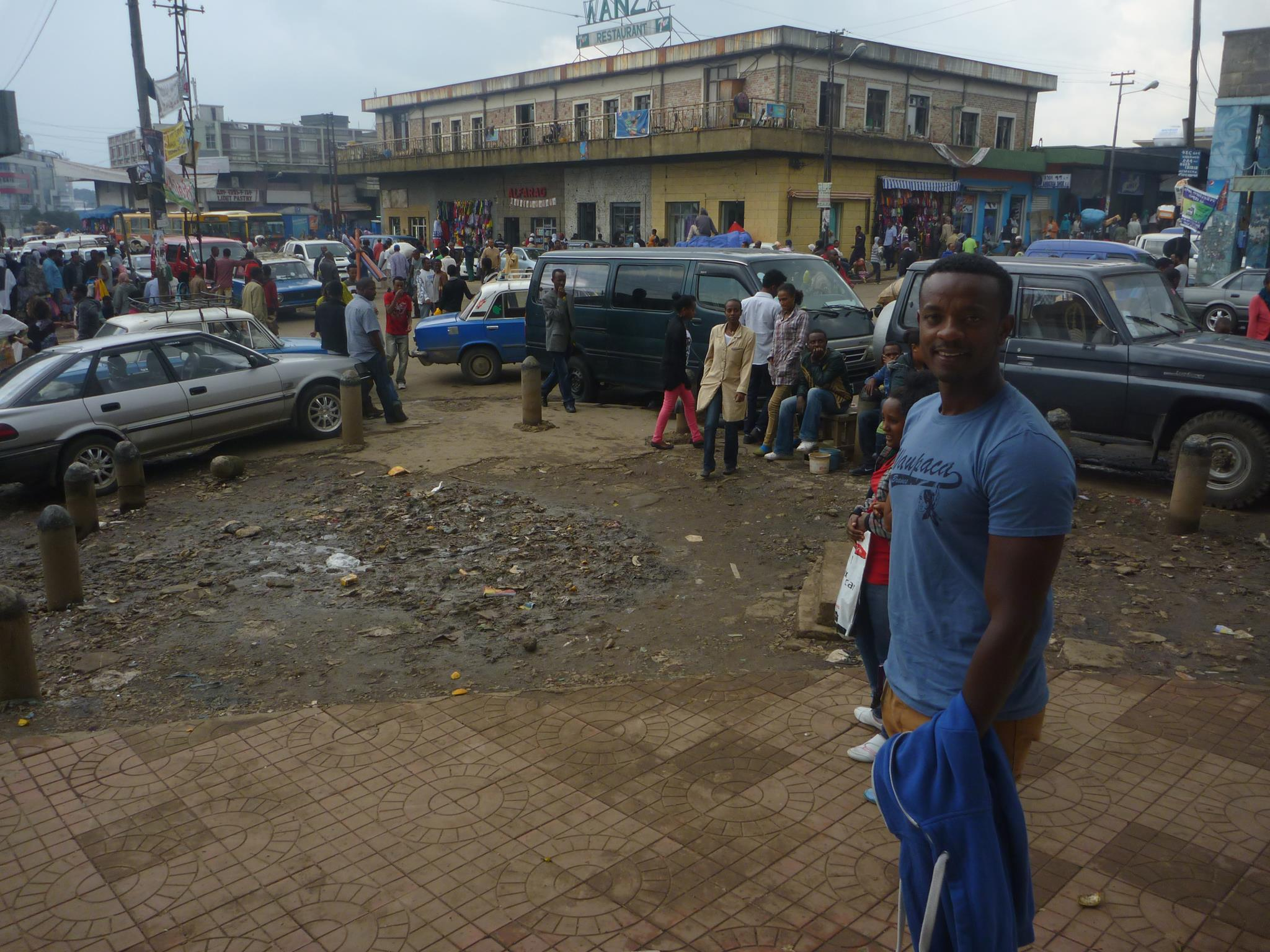 Merkato - biggest market in africa